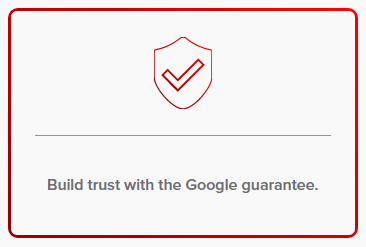 build trust with the google guarantee